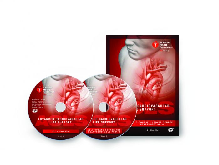 Advanced Cardiovascular Life Support (ACLS) DVD Set