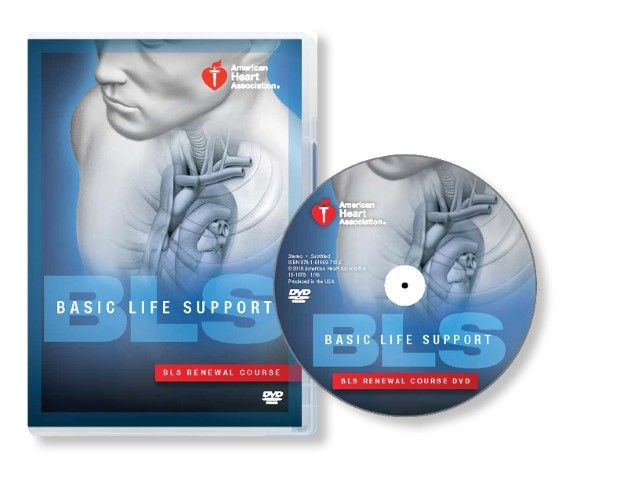 Basic Life Support (BLS) DVD Set with Renewal