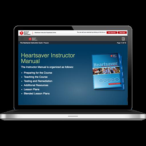 Heartsaver® Instructor Essentials Online
