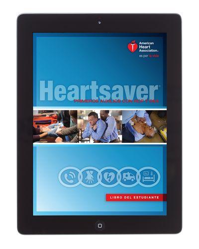 Libro del estudiante de Heartsaver® primeros auxilios con RCP y DEA en versión electrónica