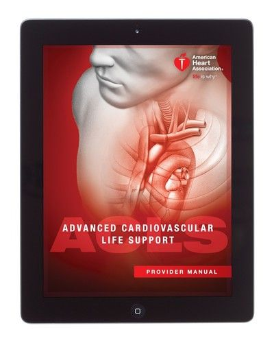 ACLS Provider Manual eBook, International English