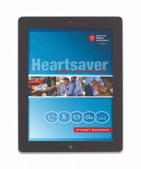 Heartsaver® First Aid CPR AED Student Workbook eBook