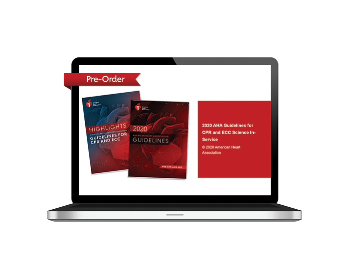 Pre-Order: 2020 AHA Guidelines Science In-Service