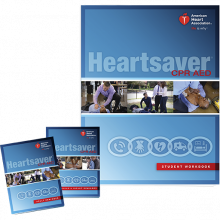 Heartsaver® CPR AED Student Workbook or eBook