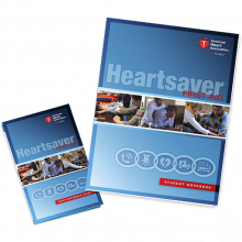 Heartsaver First Aid Student Workbook (6-pack)