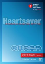 Spanish Heartsaver First Aid CPR AED DVD Set