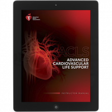 ACLS Instructor Manual eBook 2020 Guidelines
