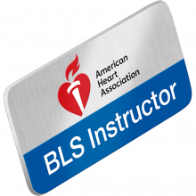 BLS Instructor Lapel Pin