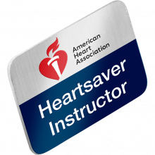Heartsaver Instructor Lapel Pin