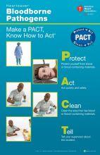 Heartsaver® Bloodborne Pathogens Poster (5-pack)