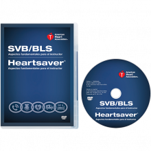 Spanish Basic Life Support/Heartsaver Instructor Essential DVD