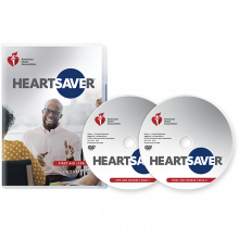 Heartsaver First Aid CPR AED DVD Set