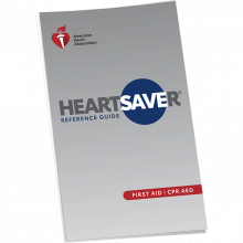 Heartsaver First Aid Reference Guide