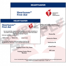 Heartsaver First Aid eCard