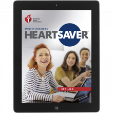 Heartsaver CPR AED Student eBook