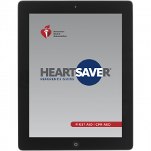 Heartsaver First Aid Digital Reference Card