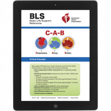 BLS Digital Reference Card