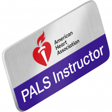 PALS Instructor Lapel Pin