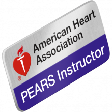 PEARS Instructor Lapel Pin
