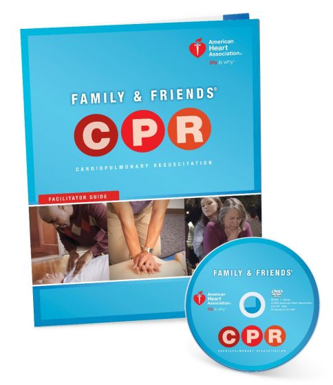 Family & Friends® CPR DVD with Facilitator Guide
