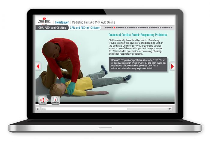 Heartsaver Pediatric First Aid CPR AED Online (2015)