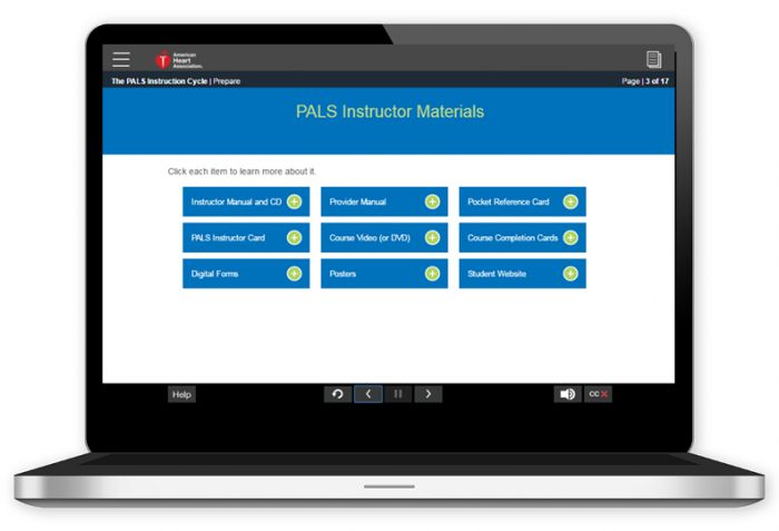 Pediatric Advanced Life Support (PALS) Instructor Essentials Online (2015 Guidelines)