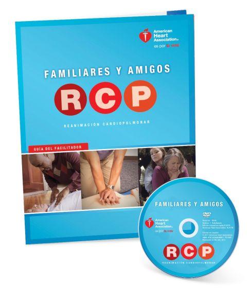 Spanish Family & Friends CPR DVD W/Facilitator Guide