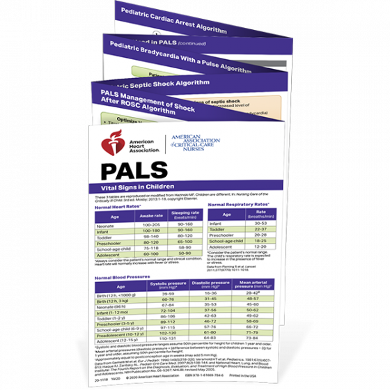 PALS Reference Card
