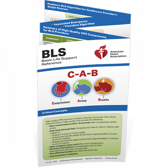 BLS Reference Card