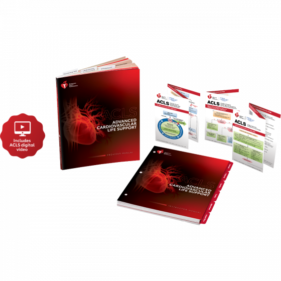 ACLS Instructor Package with Digital Video