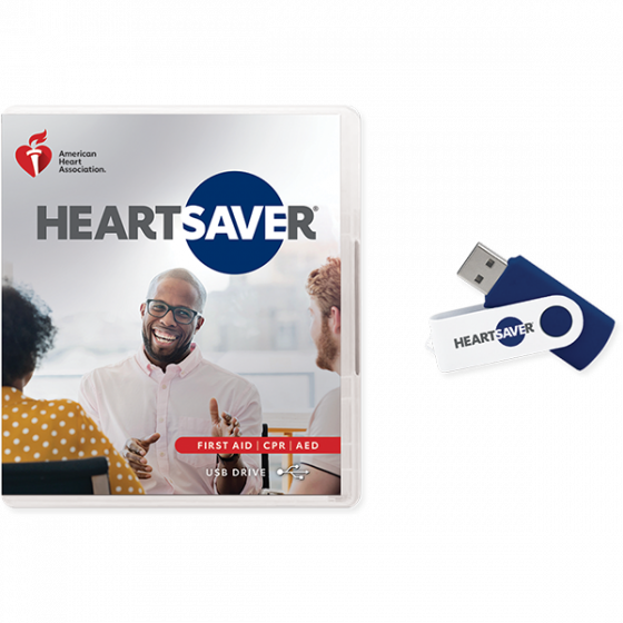 Heartsaver® First Aid CPR AED Video USB
