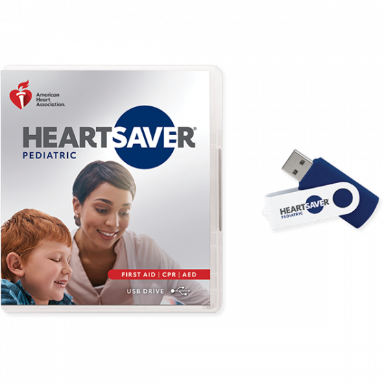 Heartsaver® Pediatric First Aid CPR AED Video USB