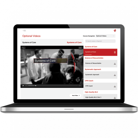 ACLS Course Digital Video