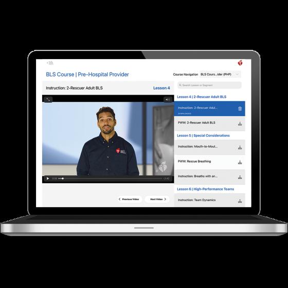 BLS Course Digital Video