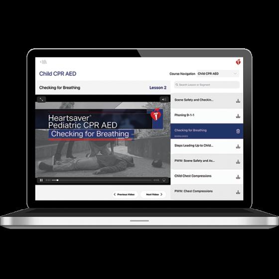 Heartsaver® Pediatric Course Digital Video