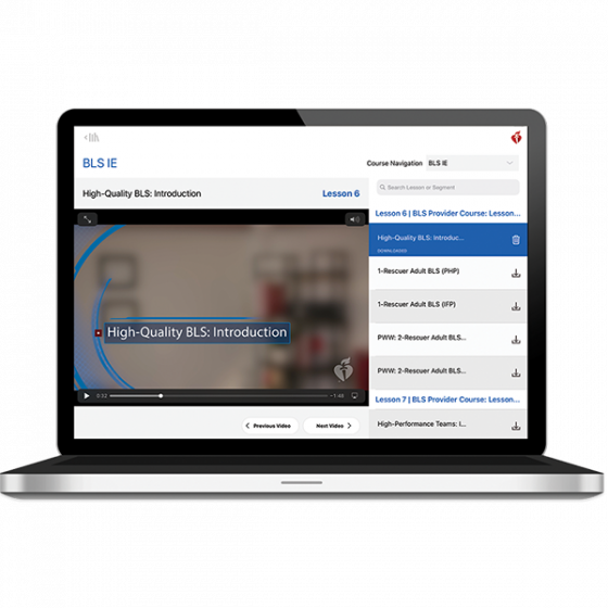 BLS Instructor Essentials Course Digital Video