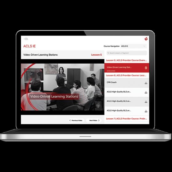 ACLS Instructor Essentials Course Digital Video