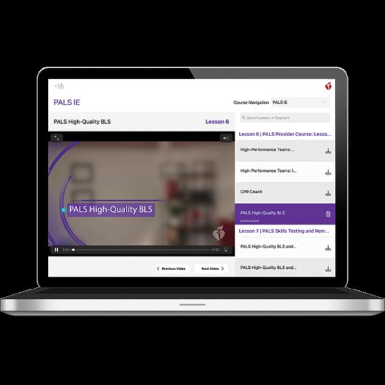 PALS Instructor Essentials Course Digital Video