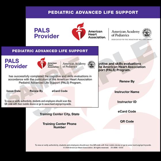 PALS Provider eCard