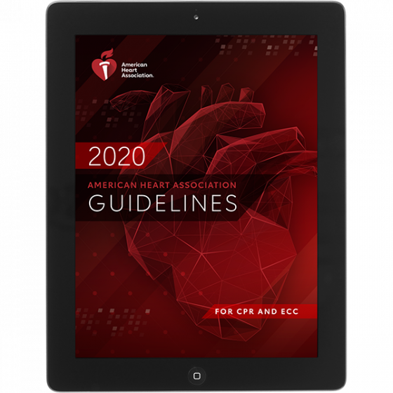 2020 AHA Guidelines for CPR and ECC eBook