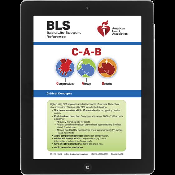 BLS Digital Reference Cards