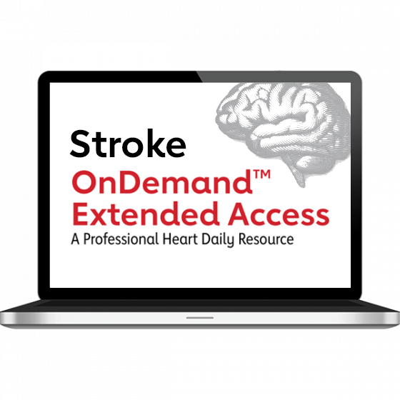 International Stroke Conference 2021 OnDemand™ Extended Access