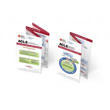 Advanced Cardiovascular Life Support (ACLS) Pocket Reference Card Set