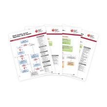 Advanced Cardiovascular Life Support (ACLS) Emergency Crash Cart Cards