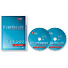 Heartsaver® First Aid CPR AED DVD Set (2-disc)