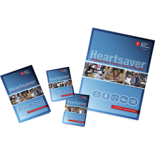 Heartsaver Pediatric First Aid CPR AED Student Workbook (6-pack)