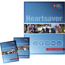 Heartsaver CPR AED Student Workbook (6-pack)