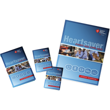 Heartsaver First Aid CPR AED Student Workbook (6-pack)