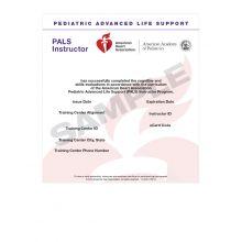 Pediatric Advanced Life Support (PALS) Instructor eCard