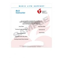 Basic Life Support (BLS) Instructor eCard